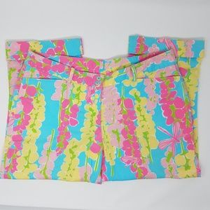 Lilly Pulitzer Snappy Dragon Capri Pants